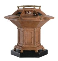 Doctor Who Figurine Collection Special: The Fourth Doctor's Secondary Wooden Tardis Console